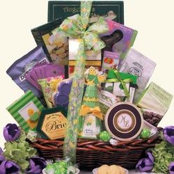 Large Easter Wishes Gourmet Easter Gift Basket