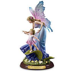 Never Far From My Heart Musical Fairy Figurine