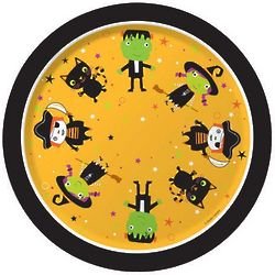 Tiny Terrors Disposable Luncheon Plates