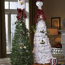 Holiday Fun Lighted Pop-up Tree