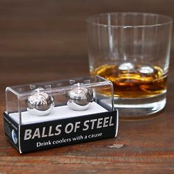 Balls of Steel Whiskey Chillers with a Cause