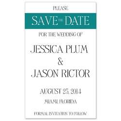 Simply Stated Save the Date Magnet