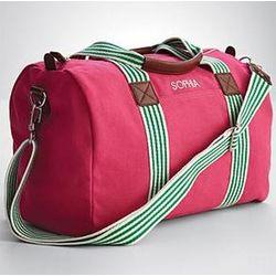 Girl's Pink Weekender Bag