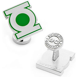 Green Lantern Symbol Cufflinks