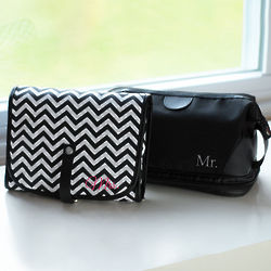 Mr. and Mrs. Travel Bags Set