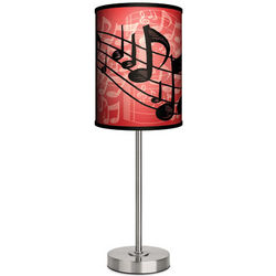Music Notes Table Lamp