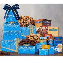 Deluxe Ghirardelli Gift Tower