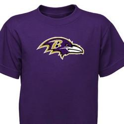 Baltimore Ravens Preschool Purple Primary Logo T-Shirt