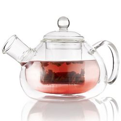 Mirabelle Glass Teapot