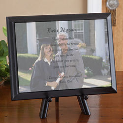 Personalized Graduation Photo and Poem Plaque