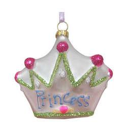 Princess Crown Christmas Ornament