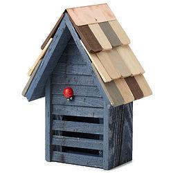 Handmade Wooden Ladybug House