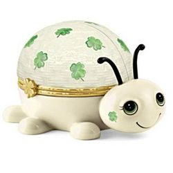 Irish You Luck Love Bug Music Box