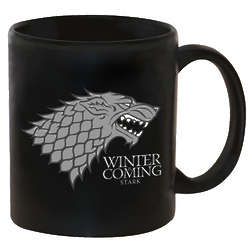 Game of Thrones Stark Direwolf Family Crest Mug