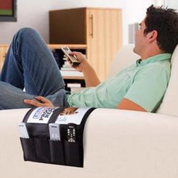 Over Couch Or Chair Arm Remote Caddy