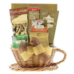Cup of Coffee and Tea Gift Basket