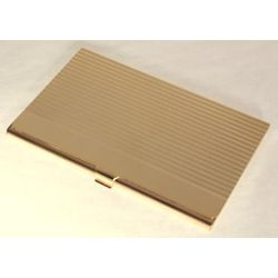 Personalized Linear Gold-Plated Business Card Case