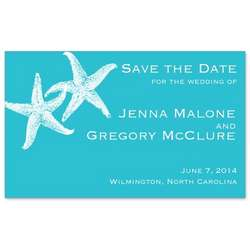 Imperial Starfish Save the Date Magnet