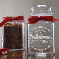 Kitty Diner Personalized Treat Jar
