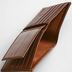 Brown Leather Excursion Wallet