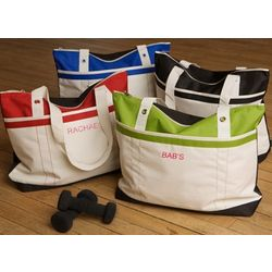 Fitness Fun Personalized Tote Bag