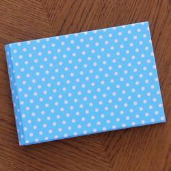 Blue Dottie Baby's Brag Book