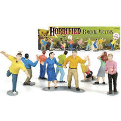Horrified B-Movie Victims Play Set
