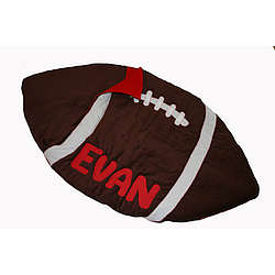 Personalized Football-Shaped Kid Sleeping Bag