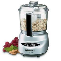 Cuisinart Chrome Mini Prep Plus Food Processor