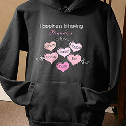 What Is Happiness? Hooded Sweatshirt