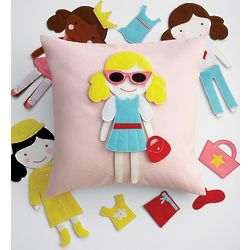 Doll Party Pillow