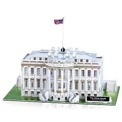 White House 3D Jigsaw Puzzle