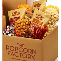 Popcorn and More Snack Box