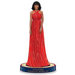 Michelle Obama 2013 Inaugural Ball Figurine