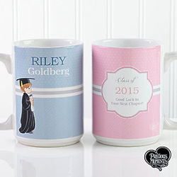 Personalized Precious Moments Graduation Coffee Mug