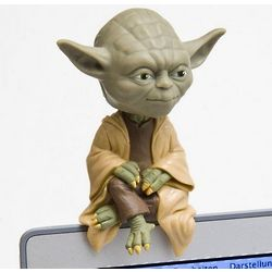 Yoda Computer Monitor Bobble-Head