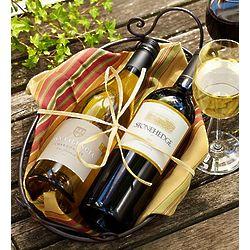 Best of Napa Chardonnay and Merlot Wine Basket