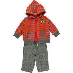 Elephant 3-Piece Fleece Outfit