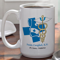 Large Medical Specialties Personalized Coffee Mug