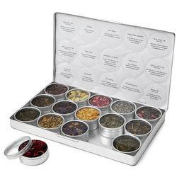 Variety of Green Herbal Teas