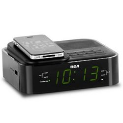 RCA Soundflow Wireless Dock with Clock Radio