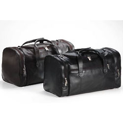 Executive Leather Duffel Bag