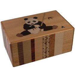 5 Sun 21-Step Panda Japanese Puzzle Box