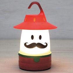 Mustached Yodeler Lantern