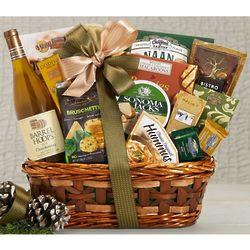 Barrel Hoops Chardonnay Bon Appetit Wine Basket
