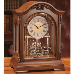 Personalized Bulova Durant Anniversary Mantel Clock