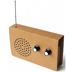 Cardboard Radio/MP3 Player