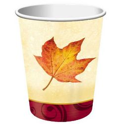 Autumn's Gift Disposable Hot/Cold Cups