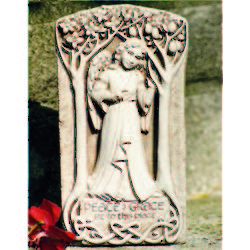 Peace and Grace Celtic Plaque