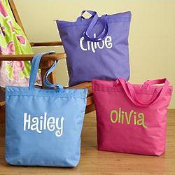 Personalized Fun in the Sun Beach Tote Bag